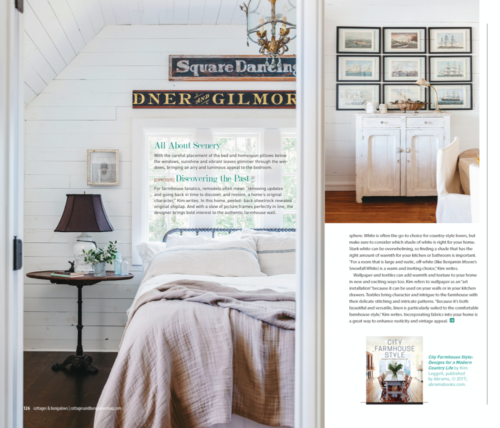 City Farmhouse Style featured in Cottages and Bungalows
