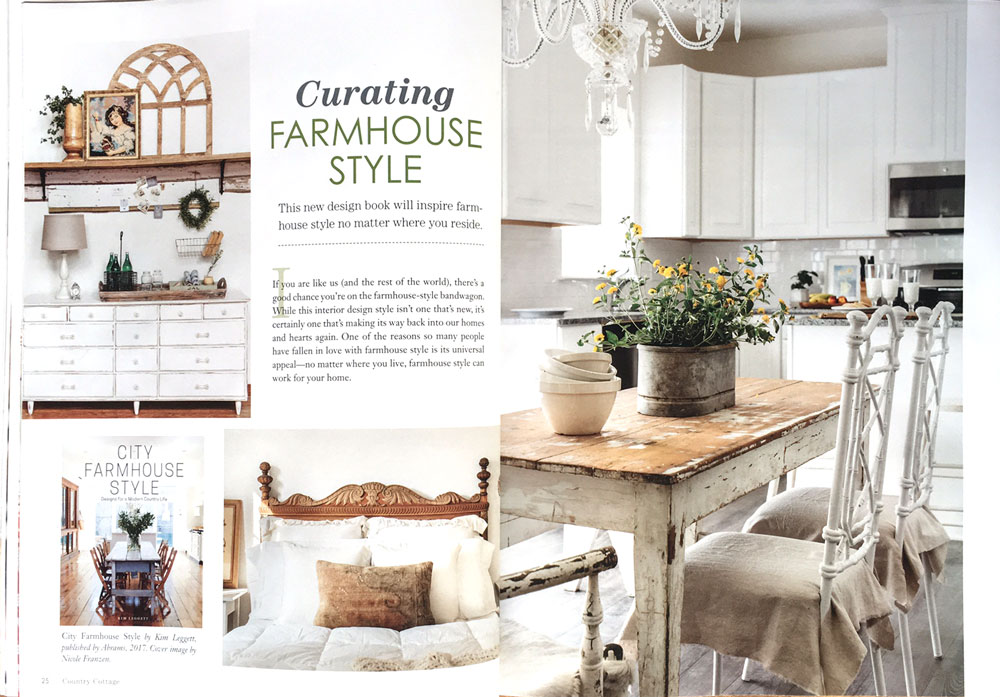City Farmhouse Style featured in Country Cottage
