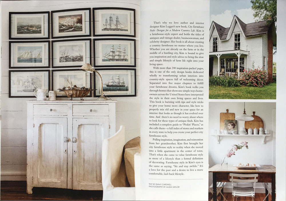 Page 2 - City Farmhouse Style featured in Country Cottage