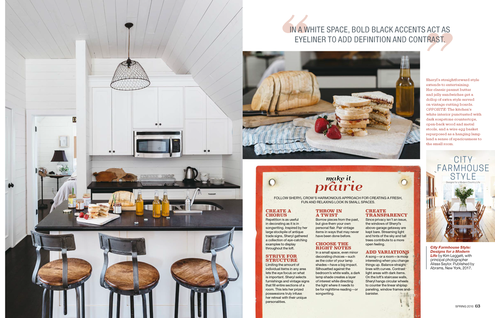 Page 3 - City Farmhouse featured in Prairie Style