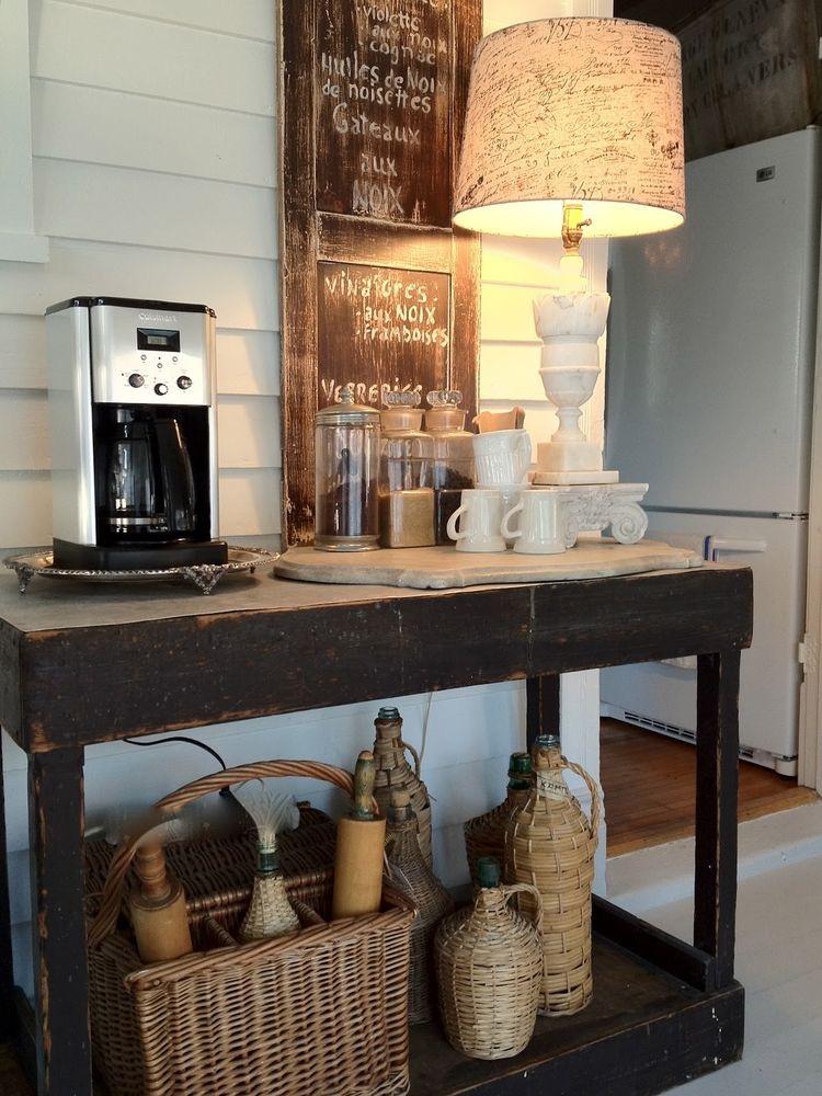 Savvy City Farmer's coffee station