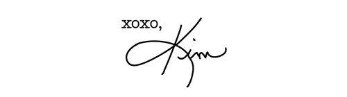 xoxo, Kim