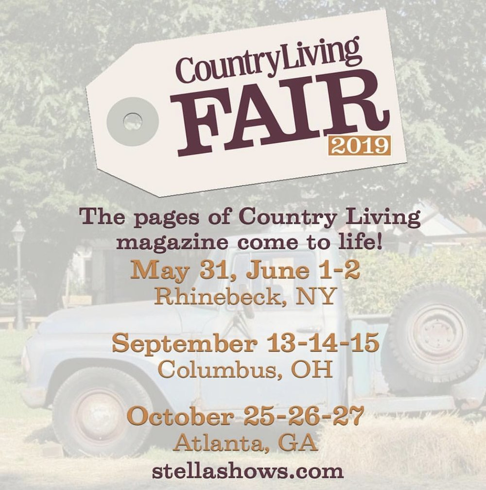 Country Living Fair Schedule
