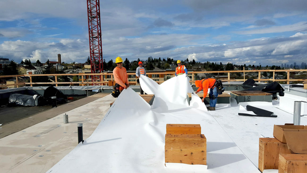 Beautiful Commercial Roofing Company Tacoma WA