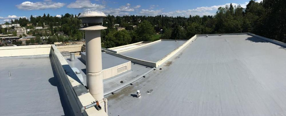 Adam Reinick, our residential salesman did a great job on the Farmer's Insurance Group Headquarters Building on Mercer Island with GacoFlex S-20 system.