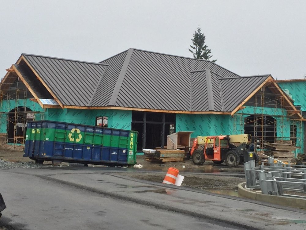 Metal Roofing Gig Harbor Olympic Town Center