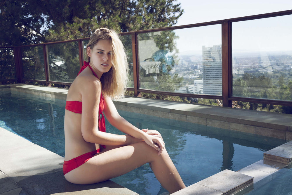 Emily in Hollywood Hills
