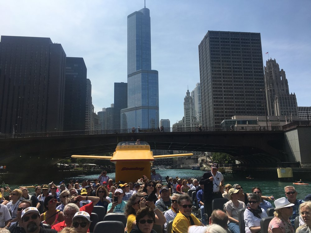 Chicago Private Architectural Cruise for Lions Club Germany