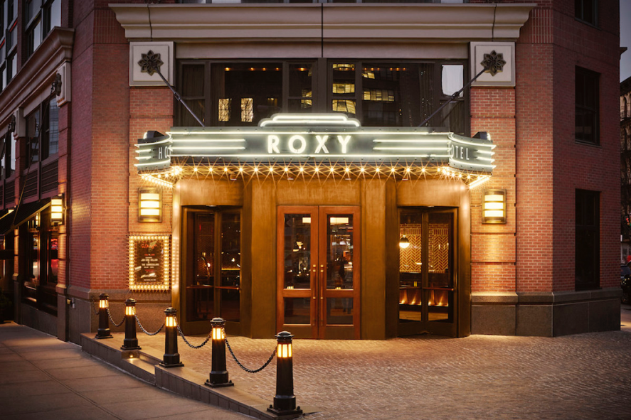 The Roxy Hotel Entrance