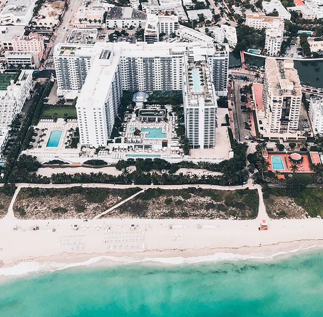 Can you guess which hotel this is? It is our number 1 hotel in Miami Beach. @1hotels #miamifromabove #miamiseaplanetours #miamibeach