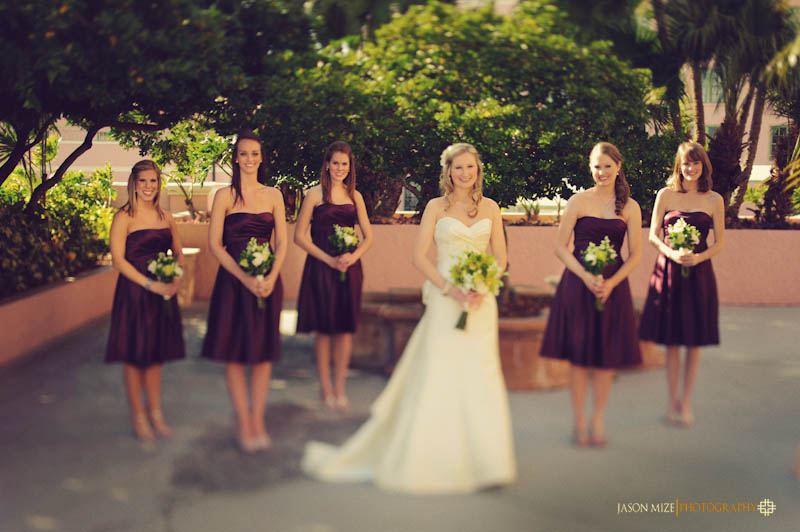 renaissance vinoy wedding: bridesmaids