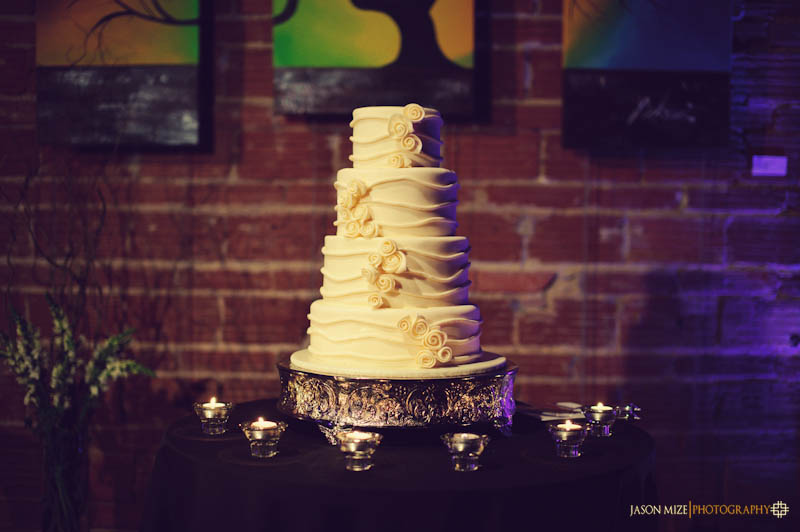 the executives chef wedding cake