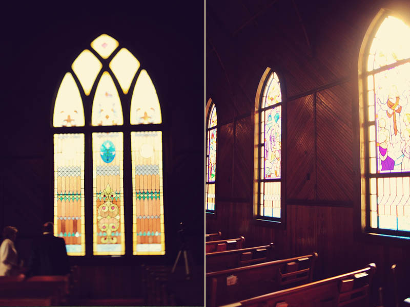 stain glass church