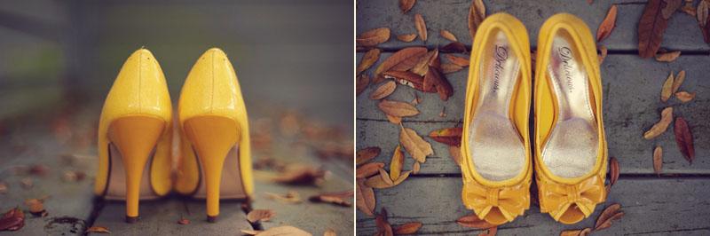 Lange Farm: yellow shoes