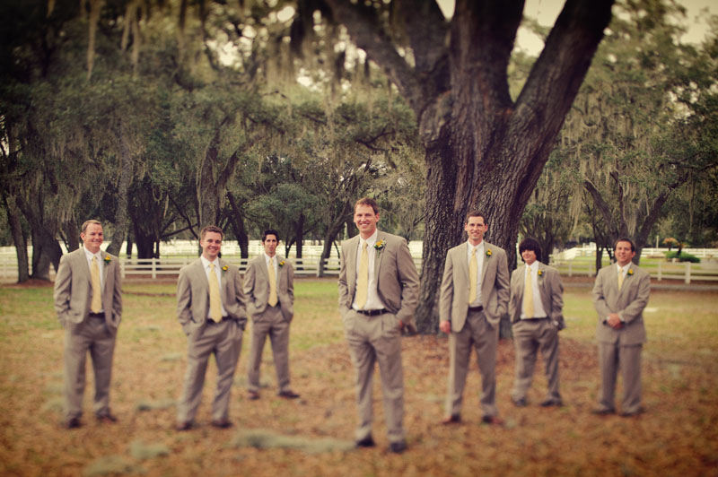 Lange Farm: groomsmen