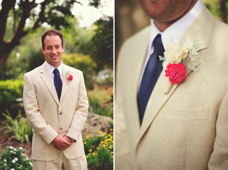 Selby Gardens Wedding: groom