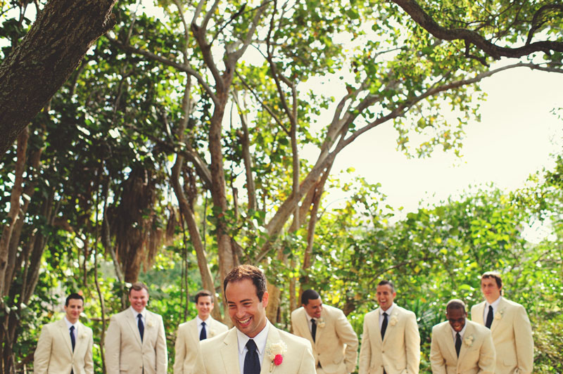 Selby Gardens Wedding: groomsmen