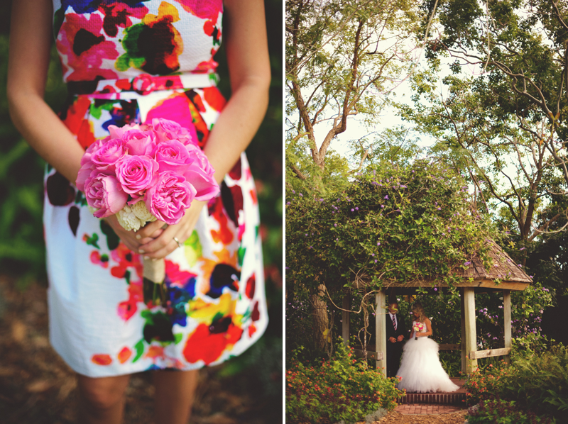 Selby Gardens Wedding: bridesmaids dresses