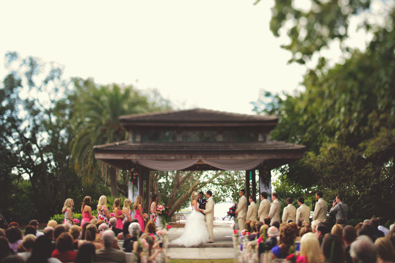 Selby Gardens Wedding: ceremony site building