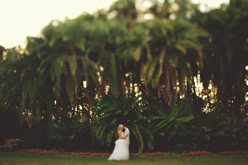selby gardens wedding: bride groom