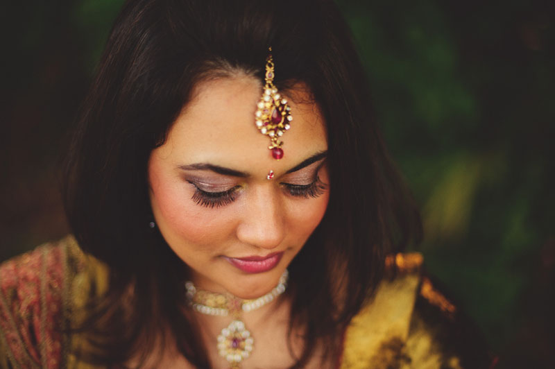 Tampa Indian Wedding: mehndi portrait