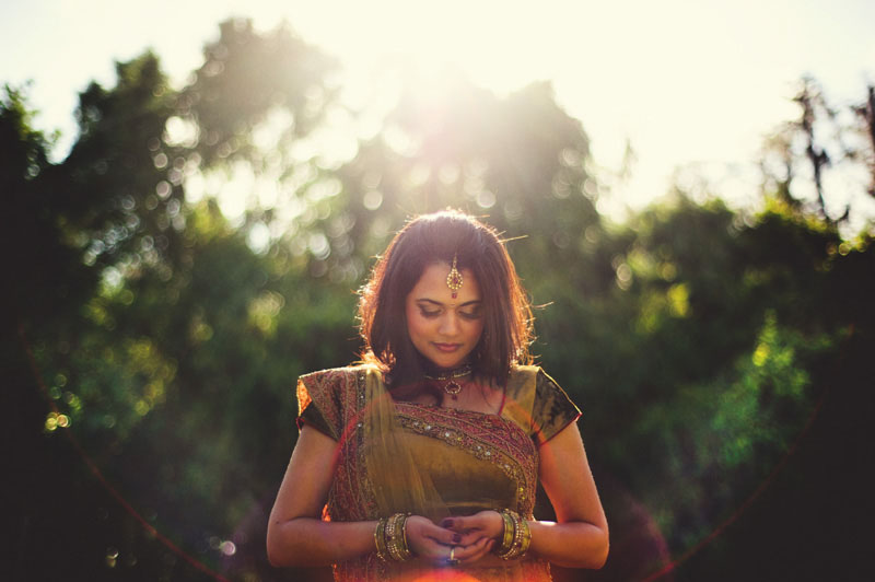 Mehndi Bridal portrait