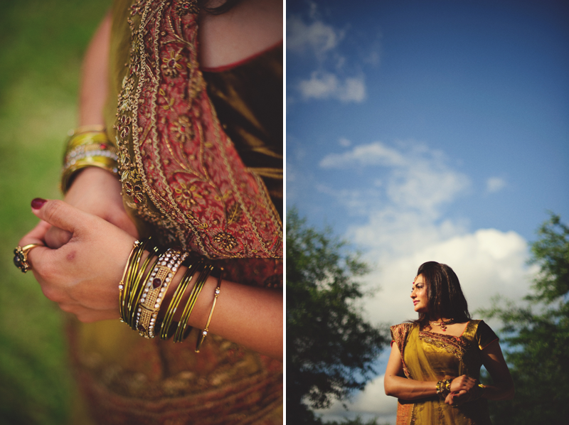 Tampa Indian Wedding: outdoor portraits
