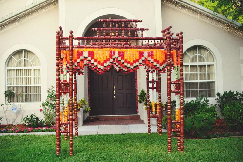 hindu mandap decor