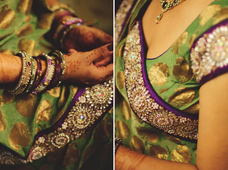 mandap ceremony saree