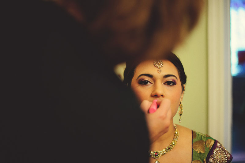 mandap ceremony make-up