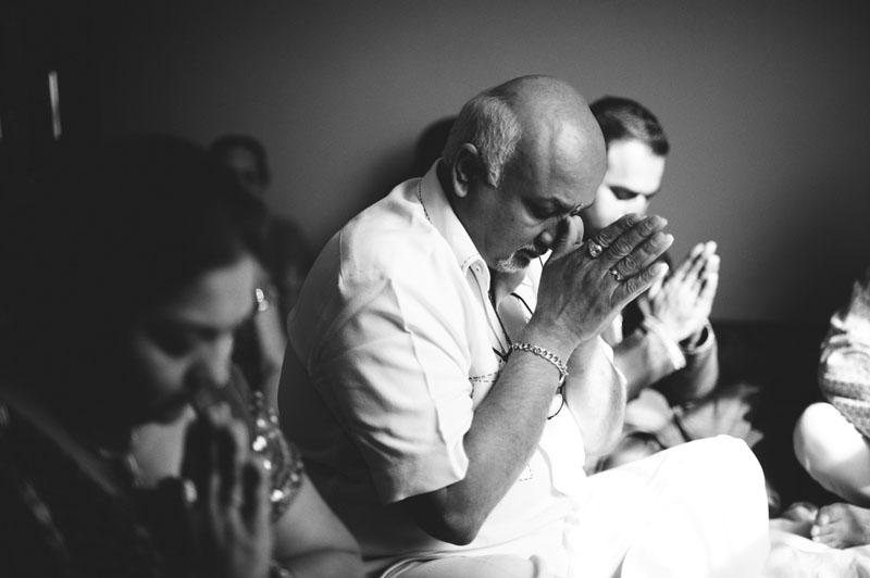 hindu prayer mandap cermony