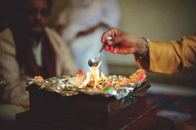 mandap spoon fire