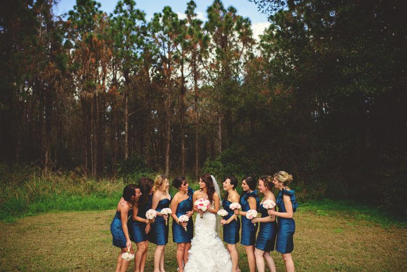 hollis garden wedding: bridesmaids