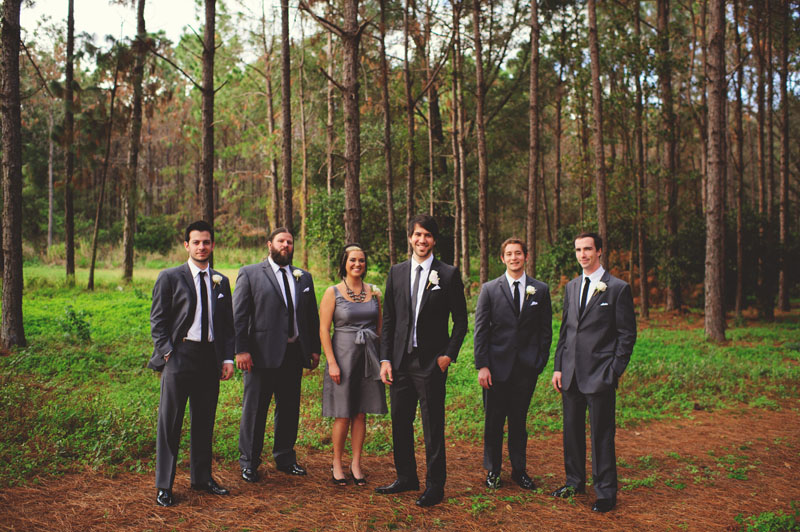 hollis garden wedding: groomsmen
