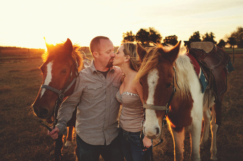 clermont fl engagement: with horses