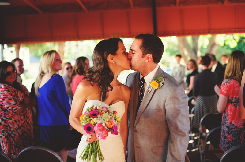 Winter Park Famers Market Wedding: recessional