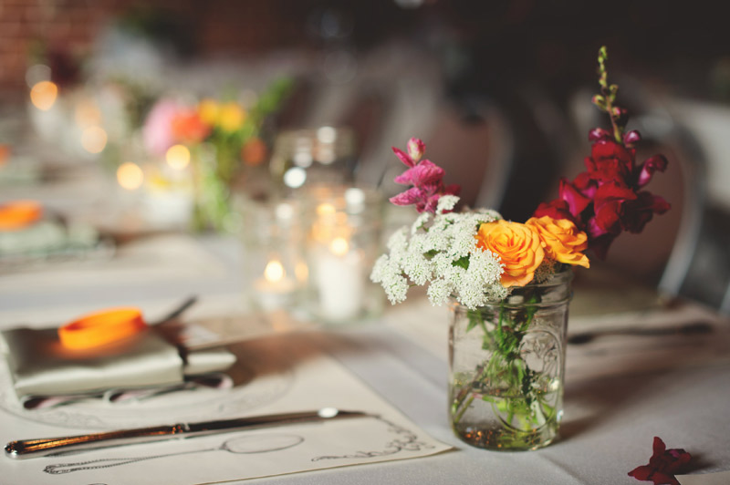 Winter Park Famers Market Wedding: freshly picked flowers
