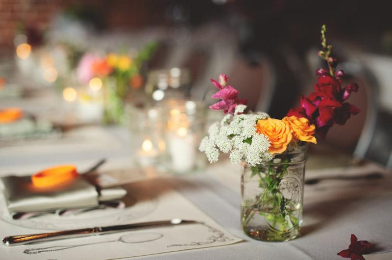 Winter Park Famers Market Wedding: freshly picked flowers