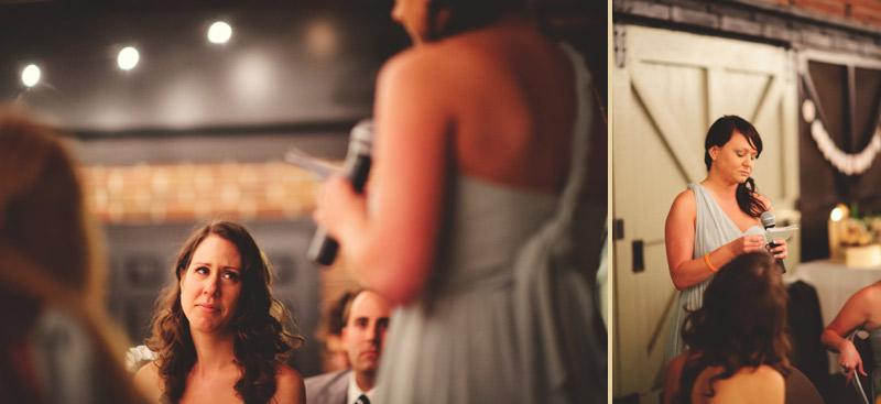 Winter Park Famers Market Wedding: speeches