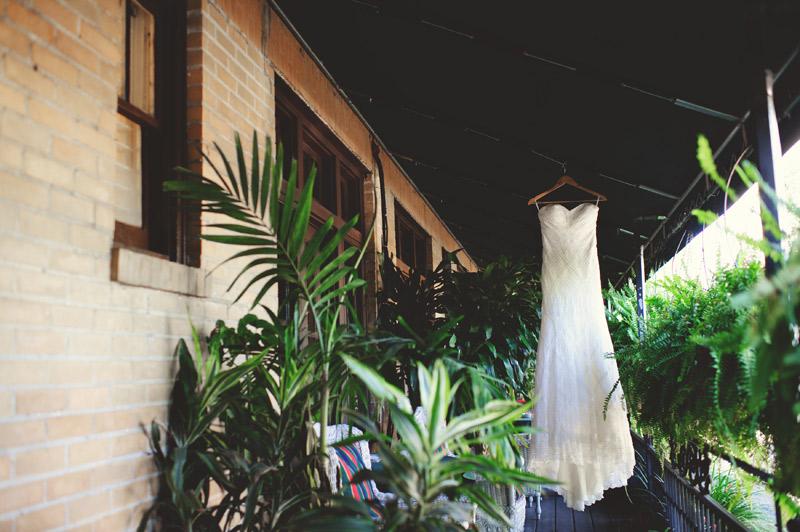 Winter Park Famers Market Wedding: dress