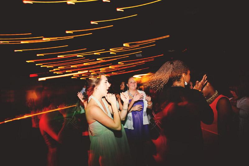 Winter Park Famers Market Wedding: fun dancing