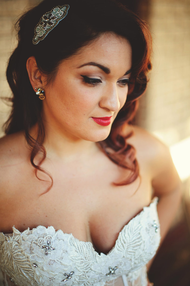 ceviche orlando wedding: vintage bride