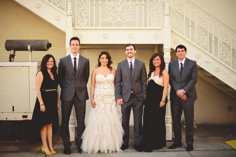 ceviche orlando wedding: bridal party
