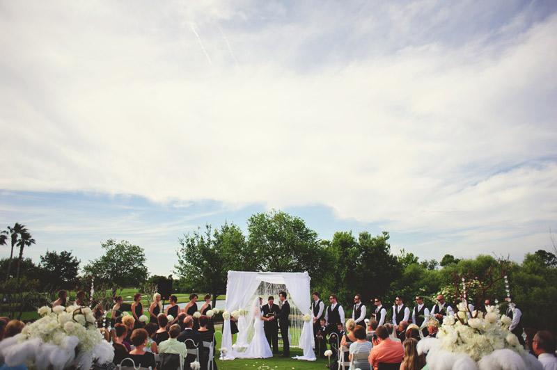 lakewood ranch wedding: ceremony