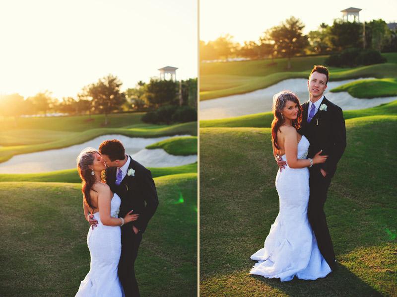 lakewood ranch wedding: bride and groom portraits