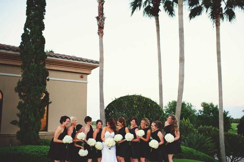 lakewood ranch wedding: bridesmaids