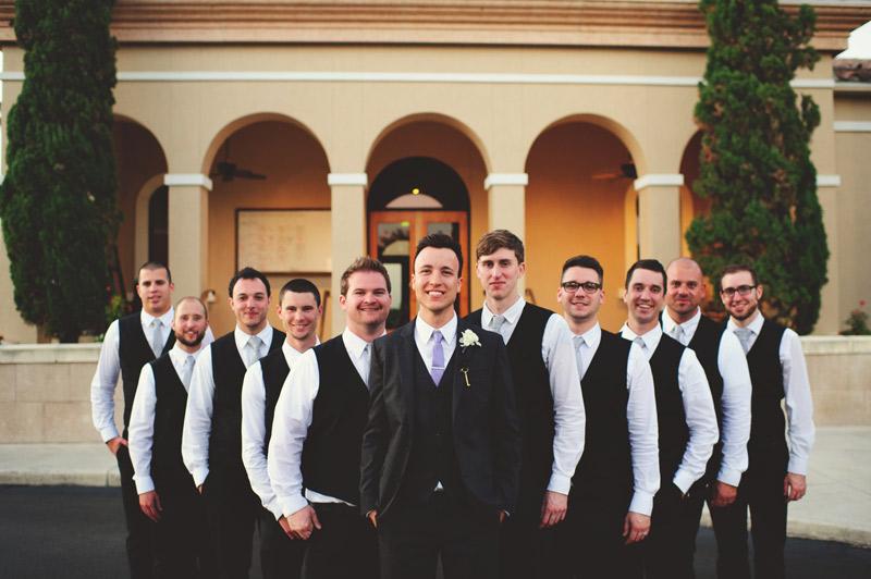 lakewood ranch wedding: groomsmen