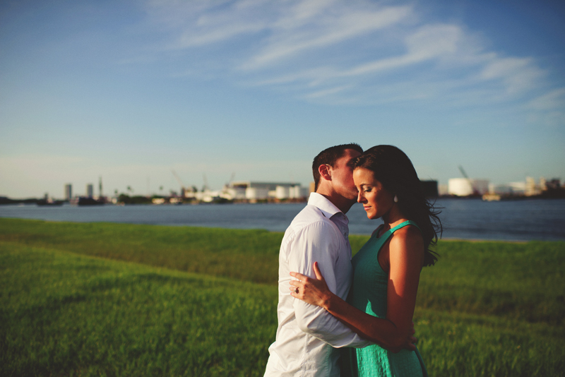 romantic airport engagement session: sweet canal