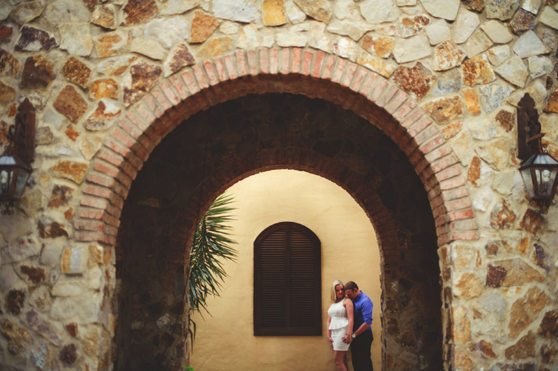 bella collina engagement session: bell tower