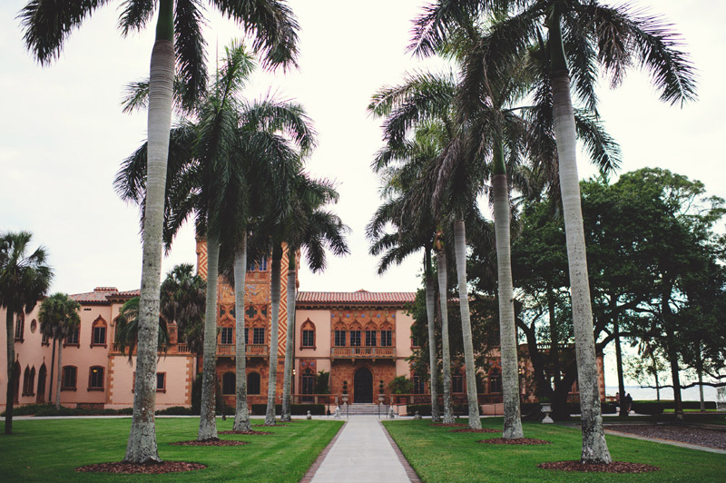 ringling museum wedding: grounds